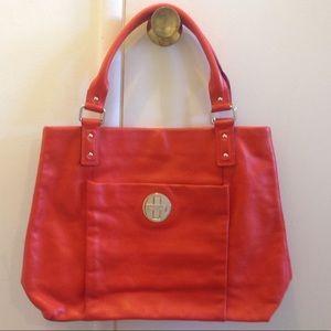 EUC Kate Spade Orange Leather Bag